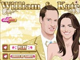 William y Kate - Juegos de vestir one piece