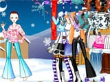 Winter fashion dress up - Juegos de vestir wonder woman