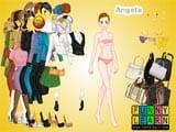 Angela dressup