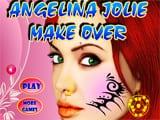 Juegos de vestir y maquillar: Angelina Jolie Make over