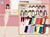 Autumn fashion dress up game - Juegos de vestir y maquillar