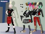 Cindys punk dress up - Juegos de vestir y maquillar