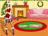 Cute christmas dress up - Juegos de vestir y maquillar