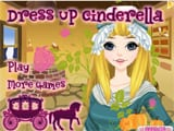Dress up Cinderella - Juegos de vestir princesas