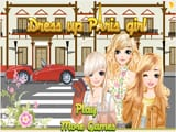 Dress up Paris Girl - Juegos de vestir a Rapunzel