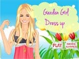 Garden Girl Dress Up - Juegos de vestir y maquillar