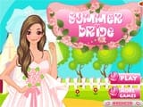 Summer bride - Juegos de vestir Monster High